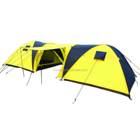 6-person large family heavy duty camping tents outdoor tents