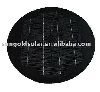 Small Solar Power 5watt Round Solar Panel Buy 5watt