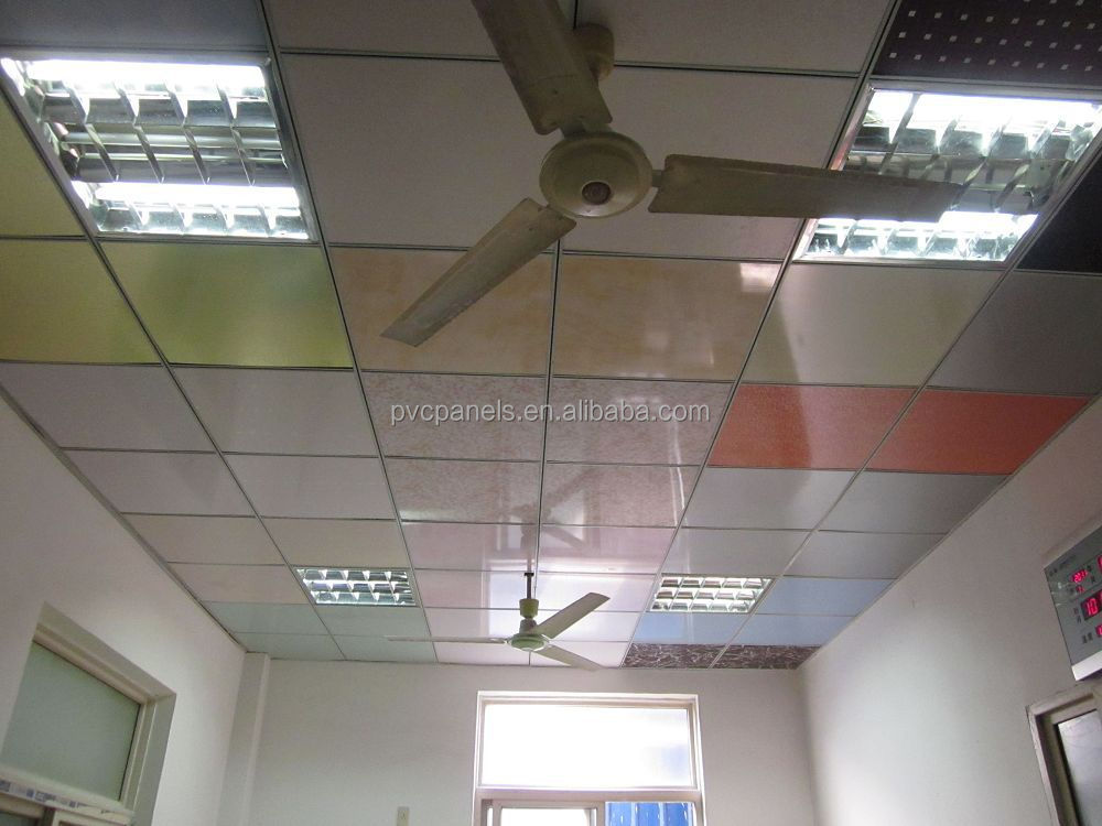 60x60 easy cleaning pvc drop ceiling tiles house ceiling design waterproof  bathroom wall panels China Manufature. 60x60 Easy Cleaning Pvc Drop Ceiling Tiles House Ceiling Design