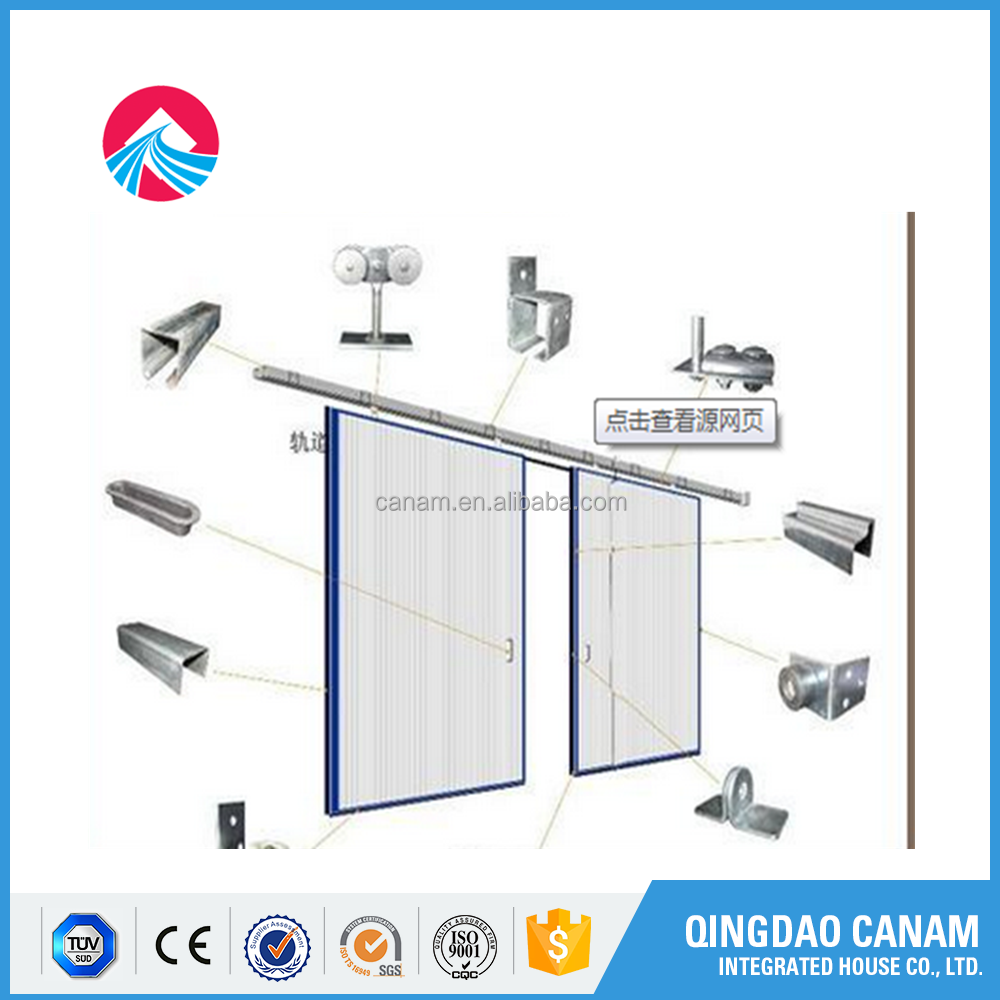 AUTO SLIDING STEEL INDUSTRY FOLDING DOOR