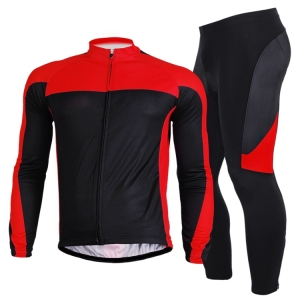 Long Sleeve Bicycle Wear Biking Cycling Jerseys / Riding Cycling Clothing