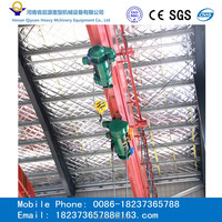 overhead crane for Loading and unloading raw material in workshop
