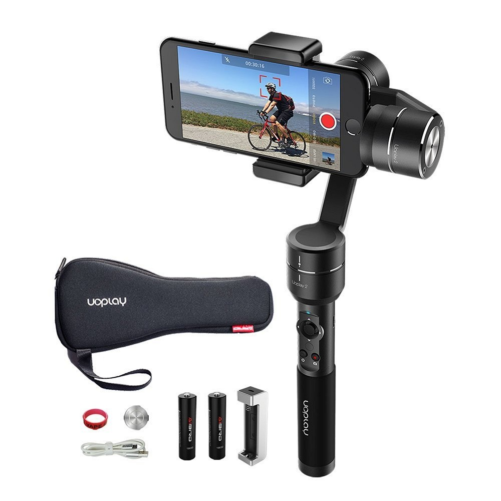 Wholesale Uoplay 3 Axis brushless Gimbal compete with DJI Osmo mobile and feiyu SPG