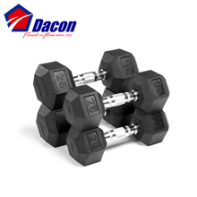 <span class=keywords><strong>Dumbbell</strong></span> da borracha do Hex <span class=keywords><strong>Conjunto</strong></span>