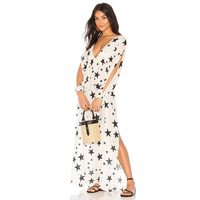 Star Starry Maxi Cover Up Beach Dress