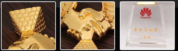 High Quality STOCK 3D wing shape zinc alloy sports customized metal medal buy oscar award trophy for business souvenir