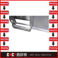 high quality sheet metal fabricators (laser cutting,punching, bending,welding,polishing,powder coating,assembly )