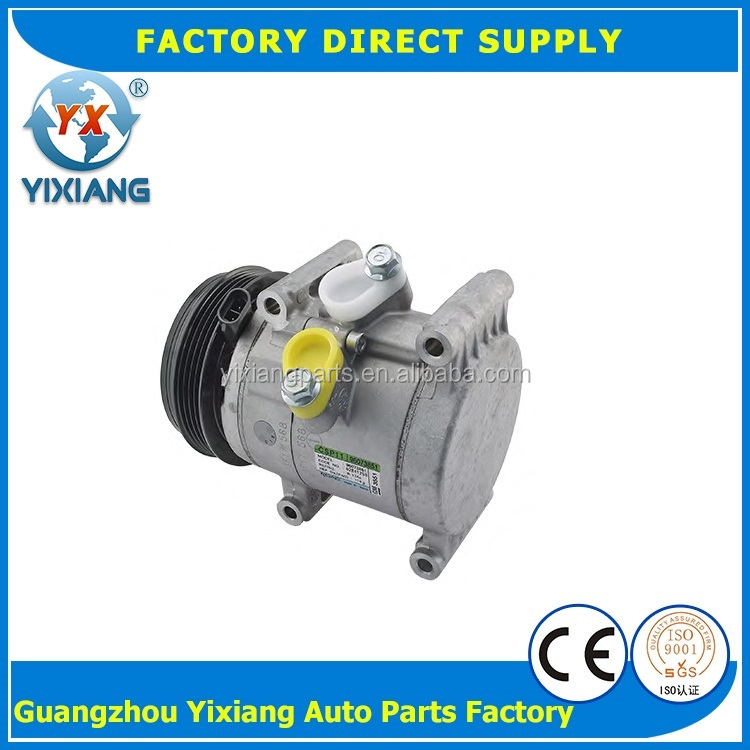 Auto Air Compressor CSP11 4PK 108MM 95967303 96073851 AC Compressor For Chevrolet Spark