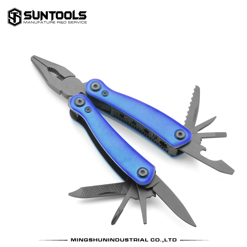 Multi-function stainless steel outdoor camping household folding pliers