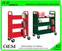 Library 4 Wheel Mover Dolly Drum Truck File Drum Dolly Book Cart ...