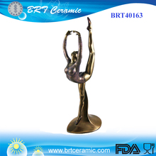Hars Sculptuur Collectible Meisje Gymnast <span class=keywords><strong>Beeldje</strong></span>
