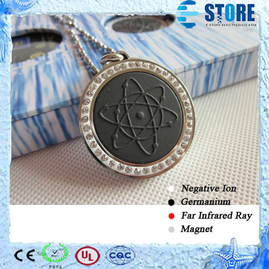 Wholesale Japanese Technology Quantum Energy Pendant Volcano with 4 Strong Magnets Stone