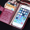 BRG Wholesale Fashion Wallet Leather Case for iPhone 5s, For iPhone5 Wallet Leather Case Cover