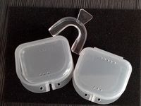 mouth tray case double