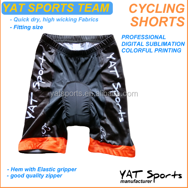 directly manufacturer Flat lock sewing wholesales YAT sports team <strong>specialized</strong> Cycling Shorts