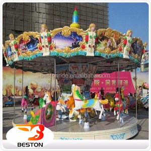 china supplier toys amusement park ride manufacturer merry go round kids carousel toy