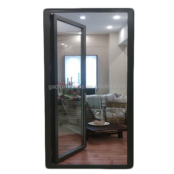 Low E Tempered Interior Frosted Glass Doorframeless Glass Door