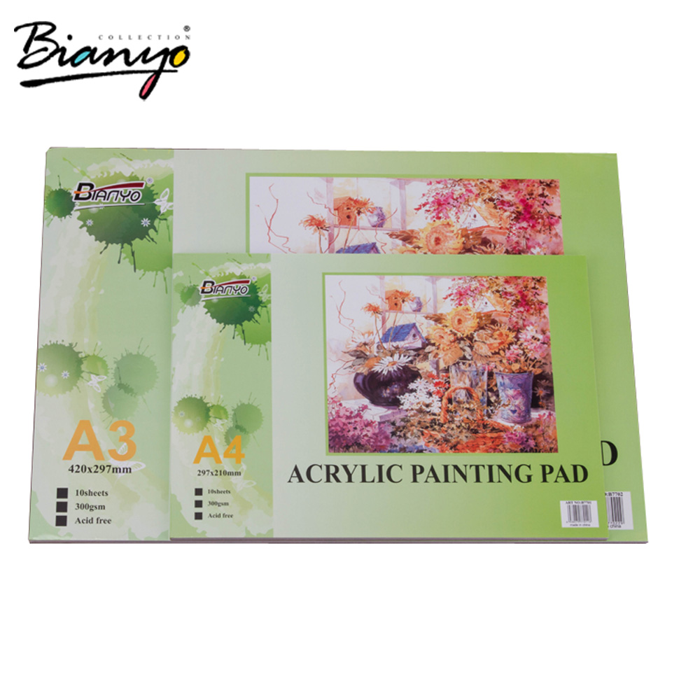 High Quality 300g White Sheet Paper,A3 A4 Size Acrylic Painting ...