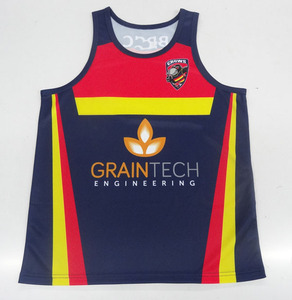 Gym singlets Any Logo Team running singlets , sublimated running singlets Oem service