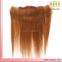 Free part silky straight color 30 brazilian 13x4 closure ear to ear lace frontal