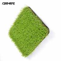 ASHER High Standard Quality Landscape Garden Decorative Artificial turf/artificial grass/artificial lawn free samples