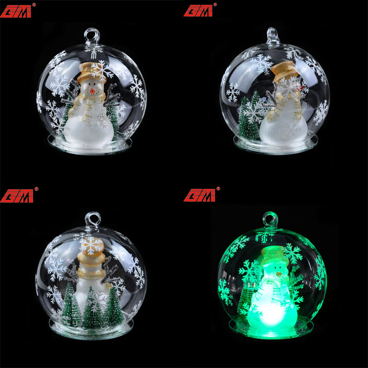 100 Wholesale Clear Glass Christmas Ball Ornaments With ...