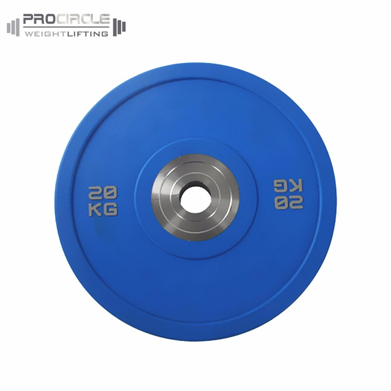<strong>Weight</strong> Lifting Training Colorful Gym PU <strong>Weight</strong> Plates