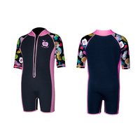 Watersports 2.0mm Neoprene Wetsuit for Kids with Frontzip