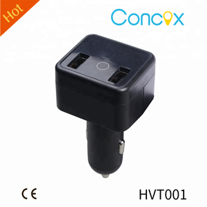 HVT001 Can Charging And Tracking At The Same Time, Support ACC detection, Plug-out Alarm, Listen-in, Easy to Install And Use.