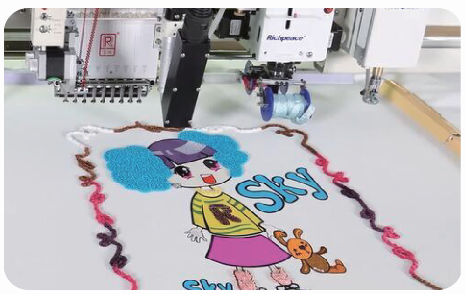 Richpeace Computerized  5-in-1 Embroidery Machine