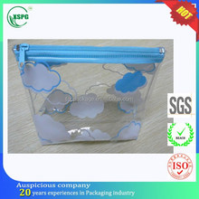 Dongguan real document/pen/cloth/underwear/cosmetic PVC plastic bag manufacturer