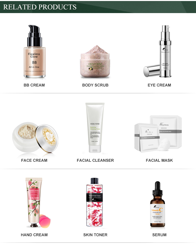 China Guangzhou Fabrik OEM gute Qualität Baby Haut Whitening Gesichtscreme für schwarze Haut