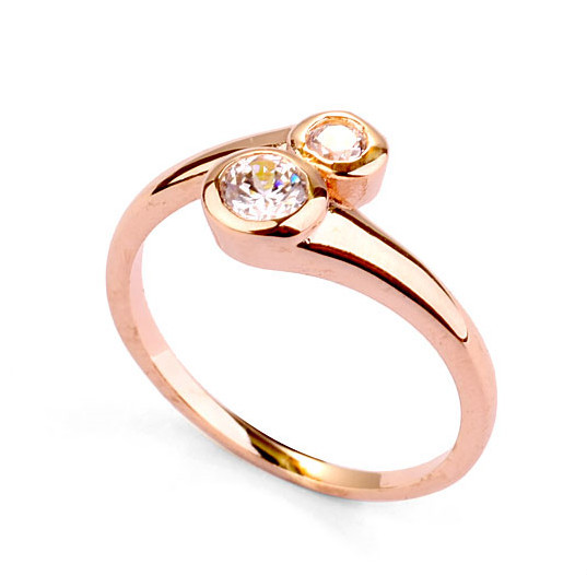 Artificial jewelry lover ring 2018 latest design wholesale stylish
