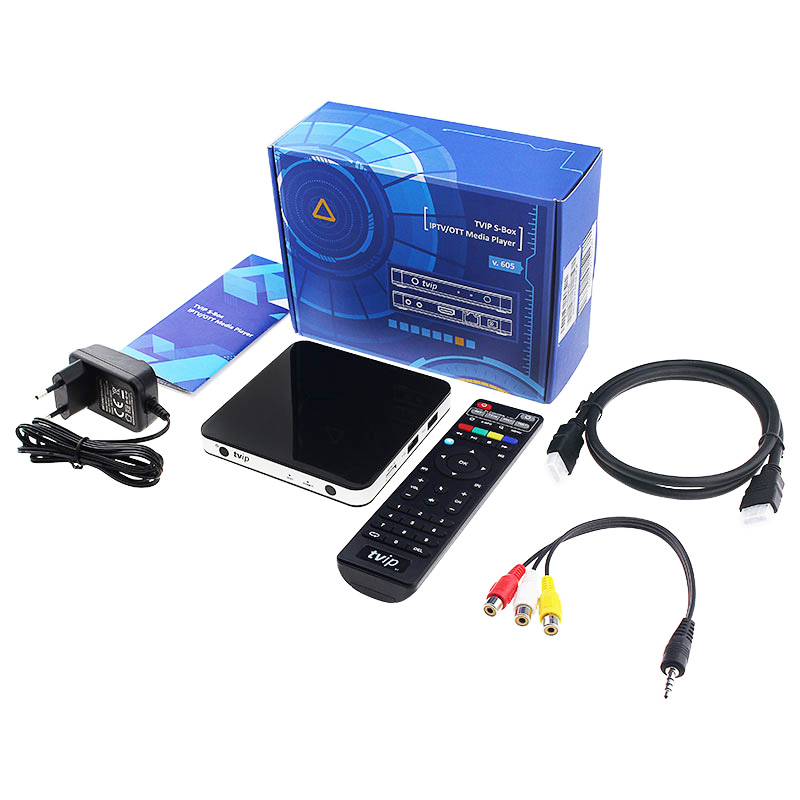 Best Selling Product neue iptv Live channels Dual System Linux Tvip v.605 Box iptv Set-Top-Box mit freien Kanälen UK Arabisch