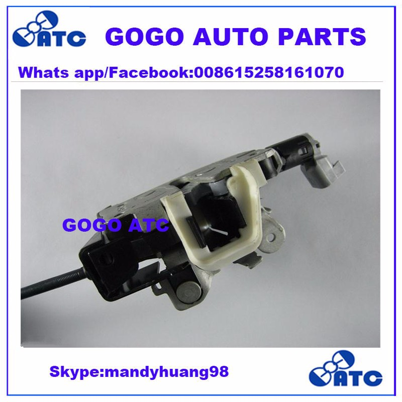 FQR500080  FQR500220  LR017470 Rear Upper Tail Gate Hatch Door Latch With Cable For LandRover LR3 LR4