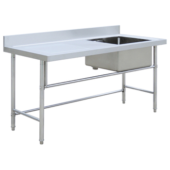 Used Stainless Steel Tables >> Stainless Steel Sink Table Stainless Steel Table With Sink Bn S35