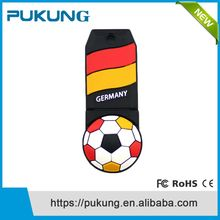Bulk 1GB-16Gb PVC football Usb Flash Drives Pendrive 2.0 wholesale