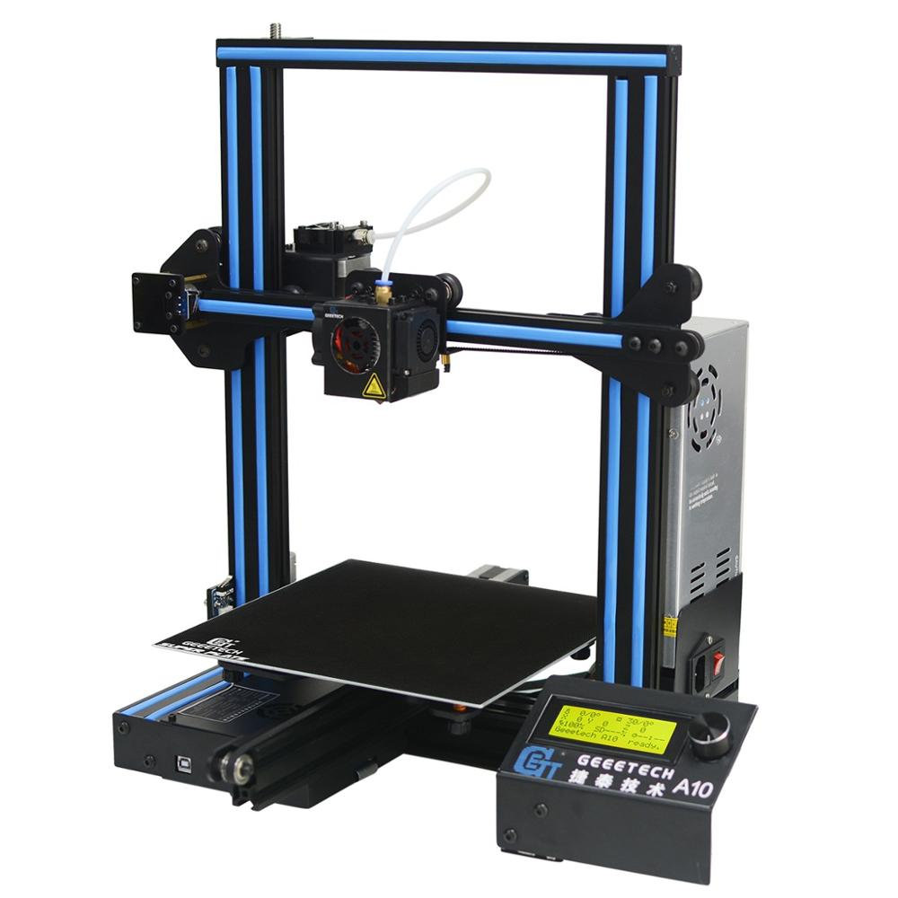Geeetech new upgraded A10 muti color diy wireless high precision LCD 2004  3d printer, View geeetech prusa i3 A10 3d printer diy kit, GEEETECH Product