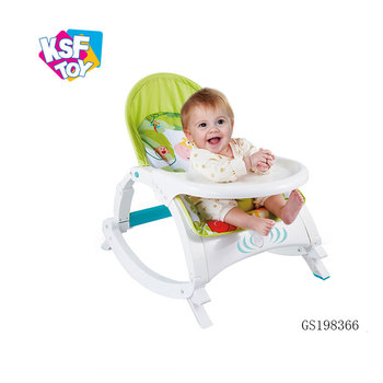e93170c5d1cce soft multifunction portable rocker toddler chair for baby with dining table