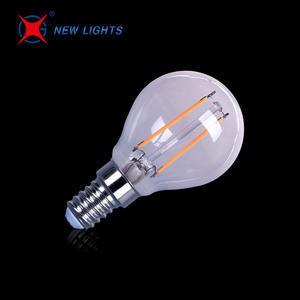 indoor lighting dimmable global g45 4w e14 led filament bulb
