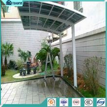 Outdoor Carport For One Car Polycarbonate Canopy