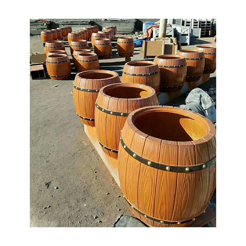 European plastic garden concrete flower pot molds for sale