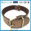 Genuine Leather Dog Collars Soft and Comfortable Black Brown Fit Small or Medium Dogs