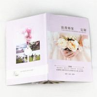 Corporate gifts fancy softcover sewn bound China factory full color a4 custom student service cheap flyer booklet brochure