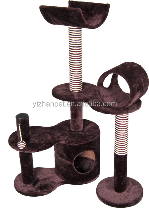 China factory 2014 fashion design cat scratching tree