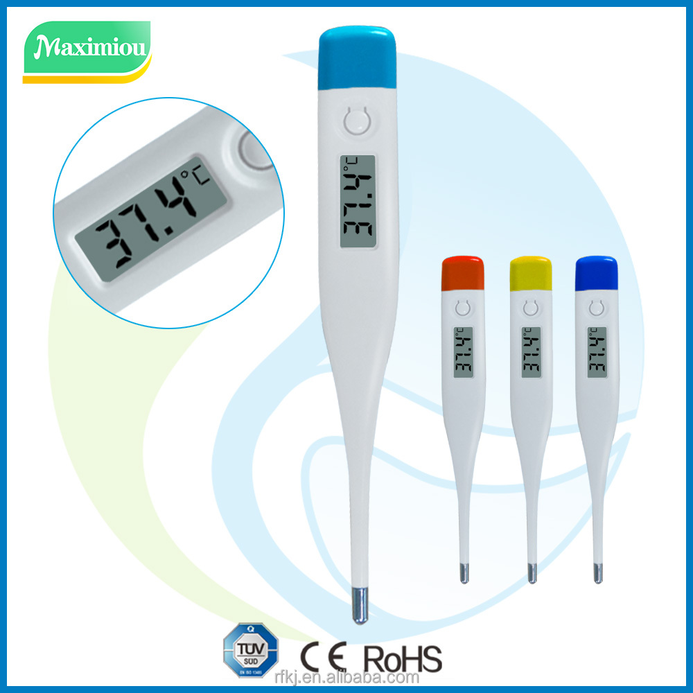 Clinical use oral/rectal/armpit digital thermometer