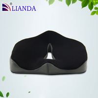 Reduces pressure on the coccyx, tailbone and hip bones back cushion