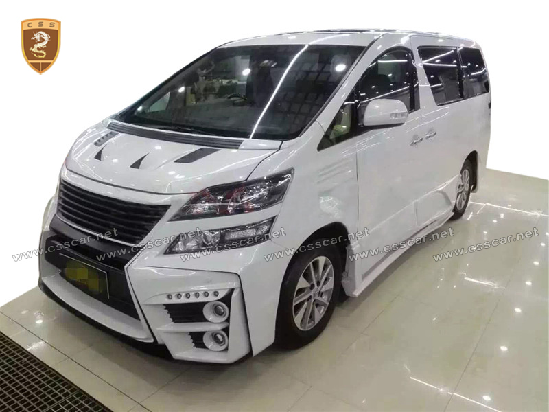 Body kit for 2009-2014Toyota Alphard ,sixty design ,FRP material wide body kit