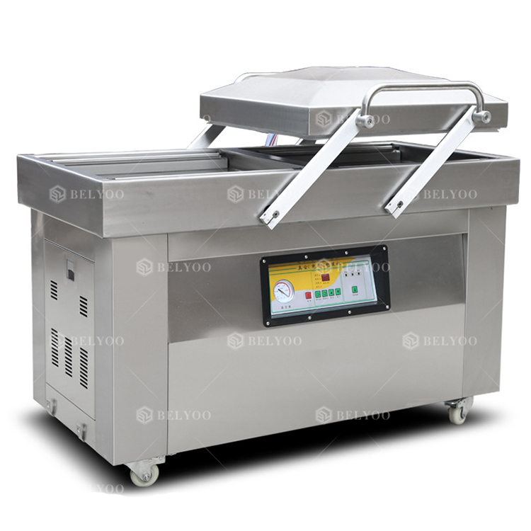 DZ-600\/2S double chamber vacuum packaging machinery/Function of Automatic vacuum forming machines