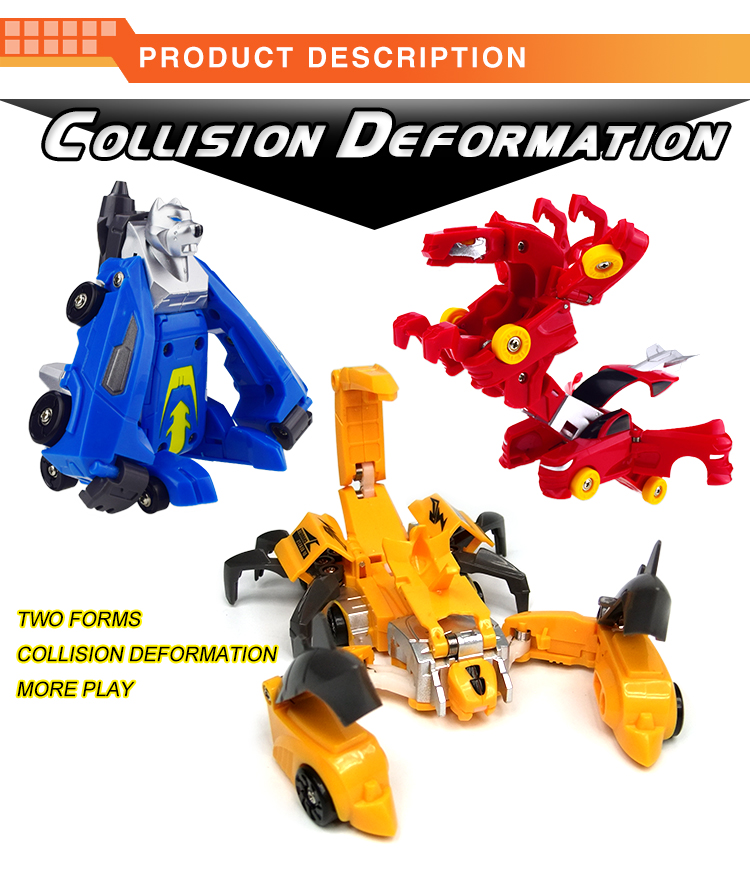 ToysMax NEW Style Deformation Scorpion ABS Car Transform Toys
